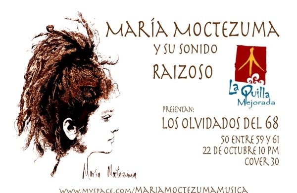 Maria Moctezuma en La Quilla Mejorada