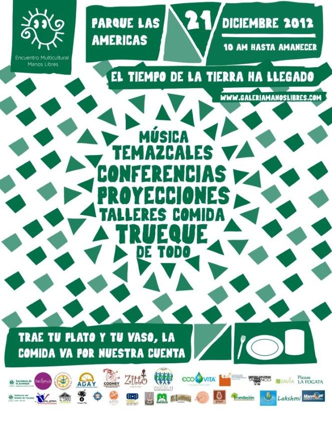 ENCUENTRO MULTICULTURAL MANOS LIBRES 2012