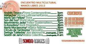 EMML2013 conciertos